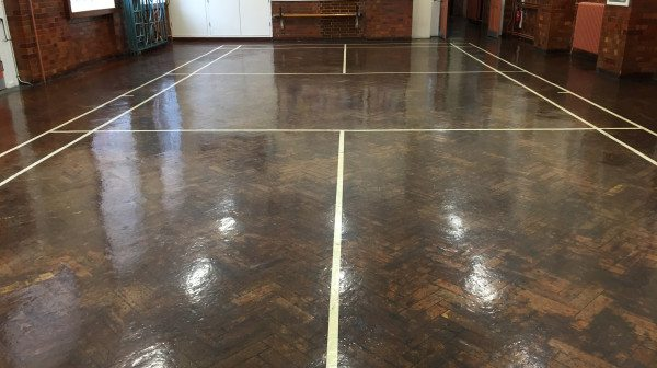 SCHOOL FLOOR SANDING BANNOCKBURN PRIMARY SCHOOL