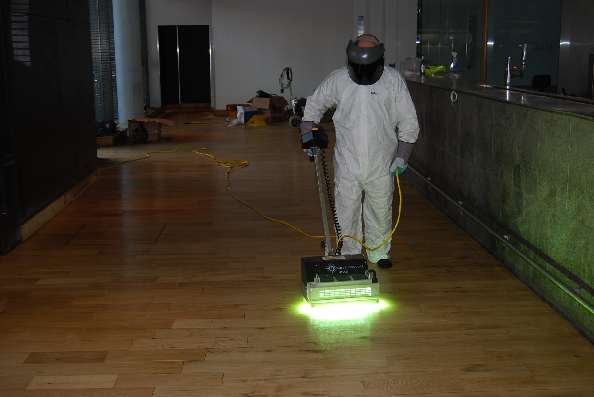 Curing the floor